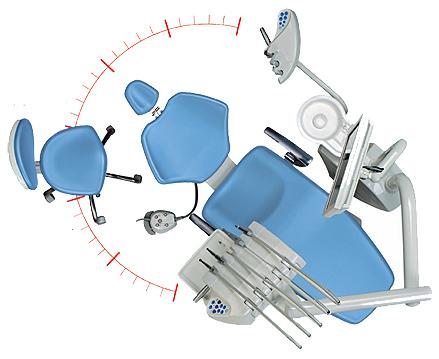 Equipos dentales sillones de dentista sillones odontol for Silla odontologica